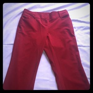 The Limited red trousers